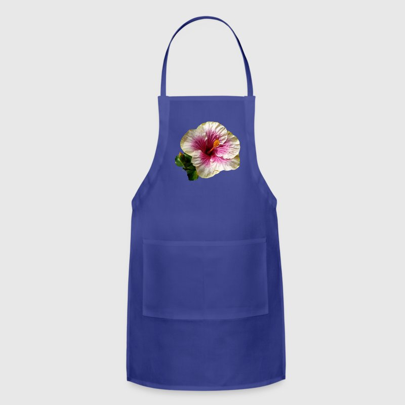Hibiscus Candy Striper Aprons - Adjustable Apron