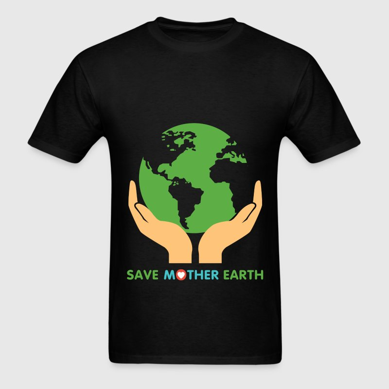 Mother earth - Save mother earth - Men's T-Shirt