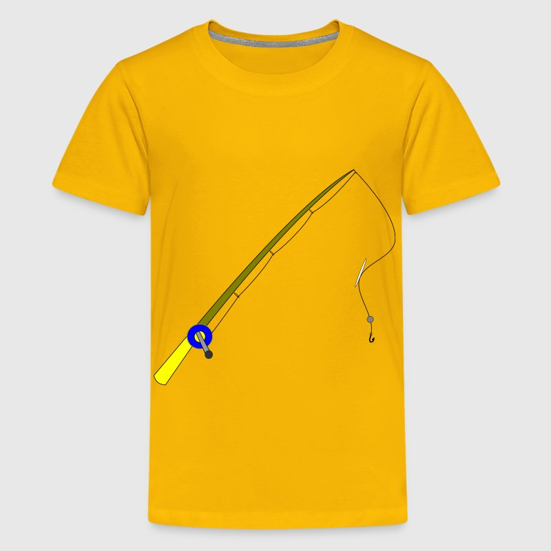 fishing rod - Kids' Premium T-Shirt