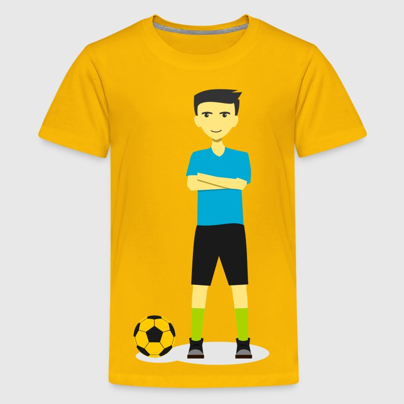Soccer Team Captain 2 - Kids' Premium T-Shirt