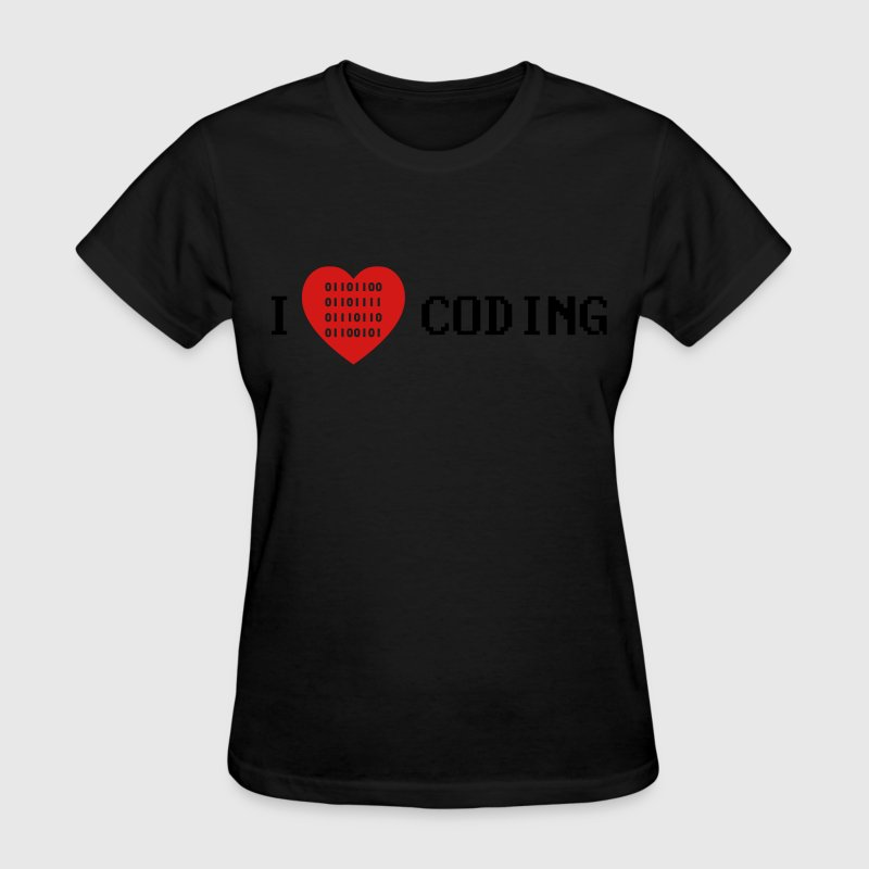 i love coding T-Shirts - Women's T-Shirt