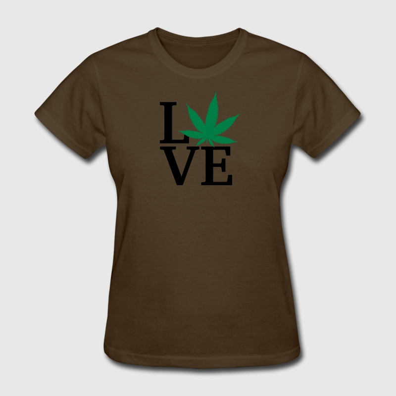 I love weed T-Shirts - Women's T-Shirt