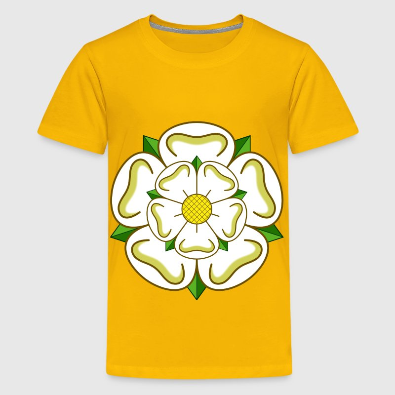 Yorkshire rose - Kids' Premium T-Shirt