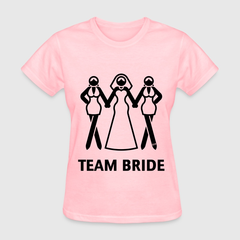 Team Bride (Hen Night, Bachelorette Party) T-Shirts - Women's T-Shirt