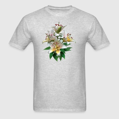 Graceful White Lilies Sportswear - Men's T-Shirt