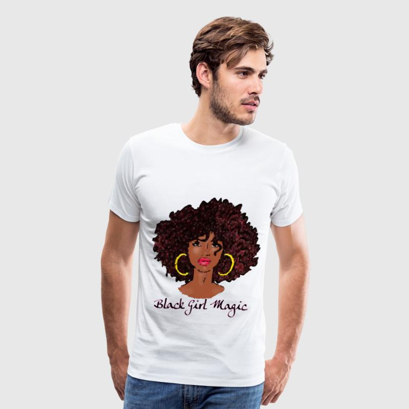 AFRO BLACK GIRL MAGIC T-Shirts - Men's Premium T-Shirt