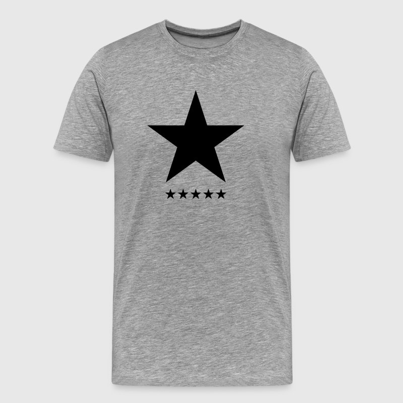 Blackstar, Black Star, Music, Hero, Bowie, Rebel  - Men's Premium T-Shirt