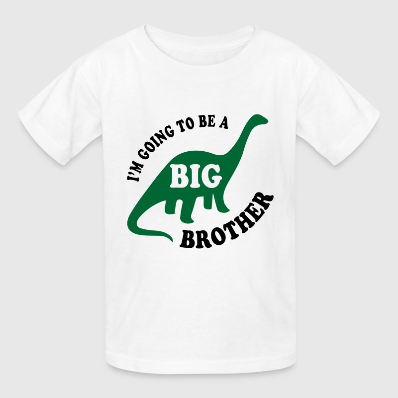 Big Brother Dinosaur Kids' Shirts - Kids' T-Shirt
