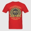 Vintage Perfectly Aged 1972 Limited Edition T-Shirts - Men's T-Shirt