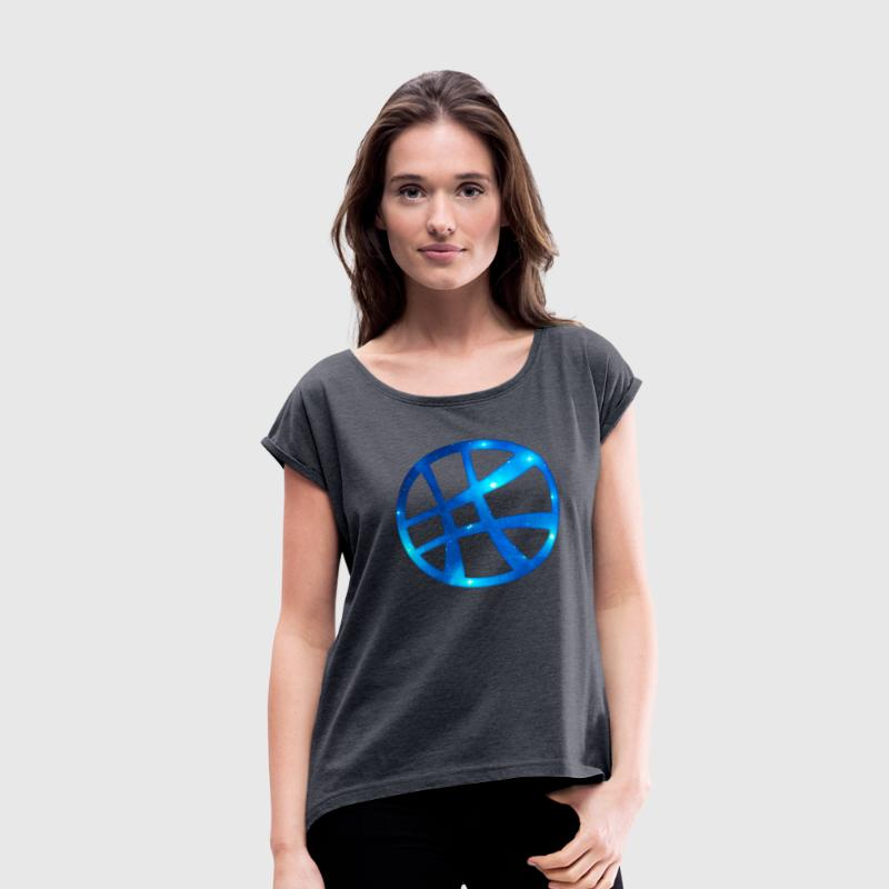 Magic symbol - Sanctum Sanctorum, sorcery, T-Shirt - Women's Roll Cuff T-Shirt