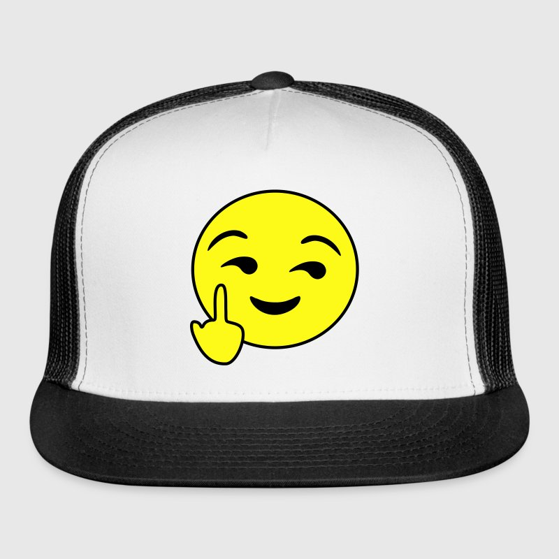 Fuck You Emoticon Sportswear - Trucker Cap