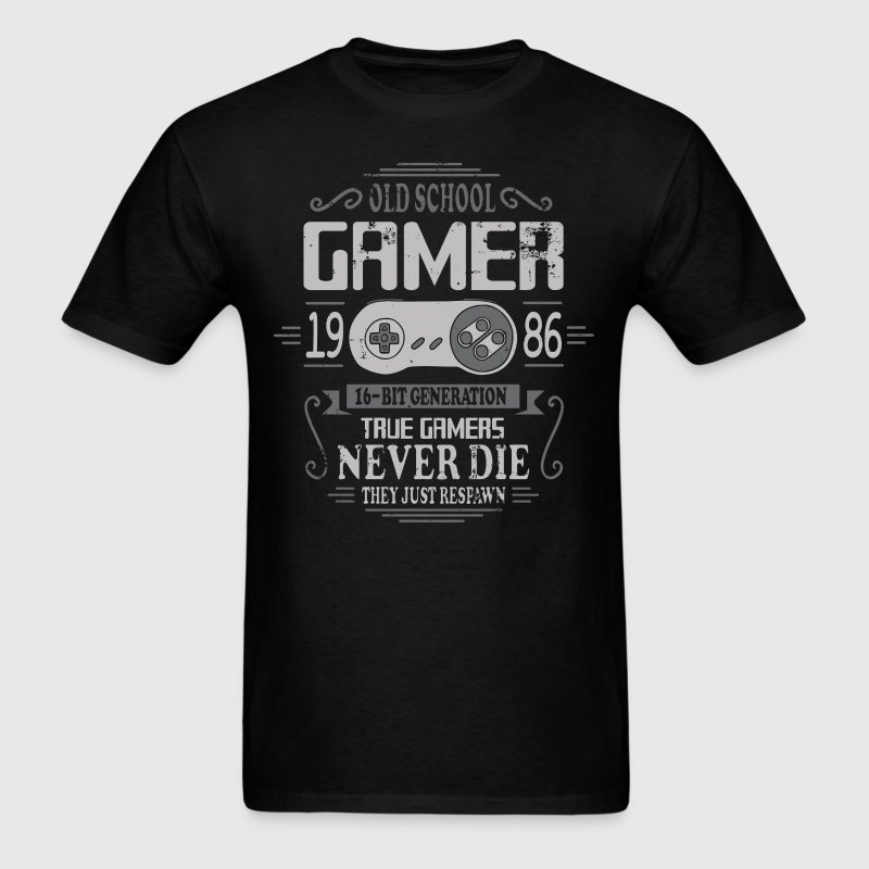 Old School Gamer 1986 Birthday T-Shirts - Men's T-Shirt