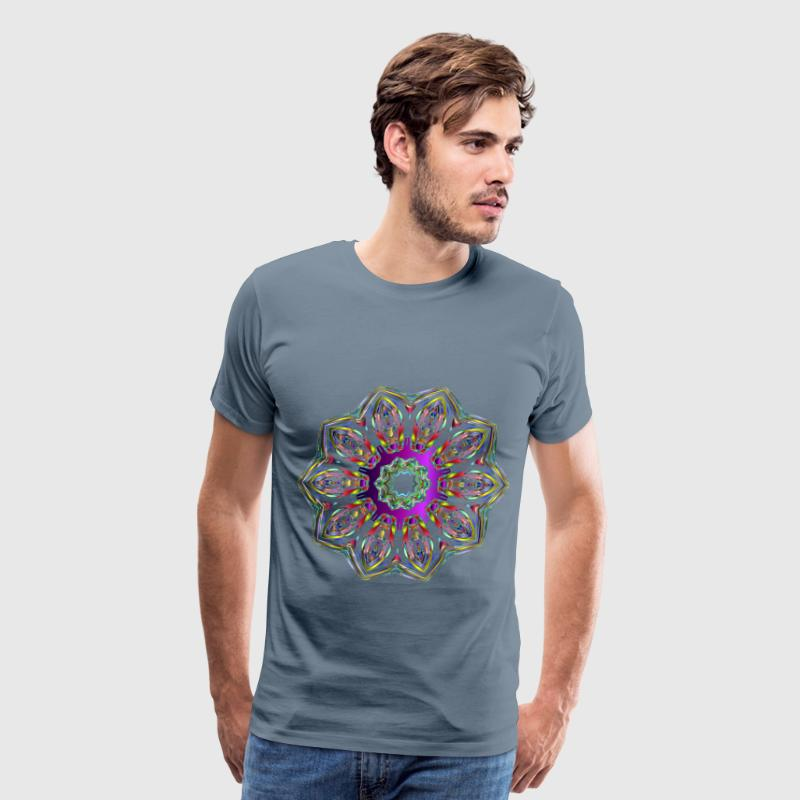 Hexagonal Tessellation Design 11 - Men's Premium T-Shirt