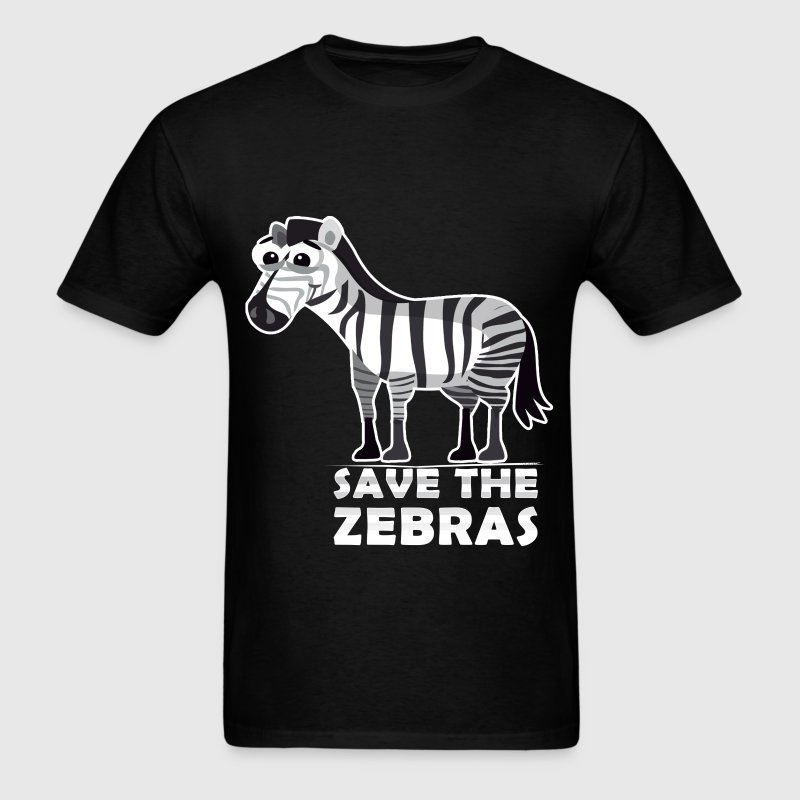 Zebras - Save the zebras - Men's T-Shirt