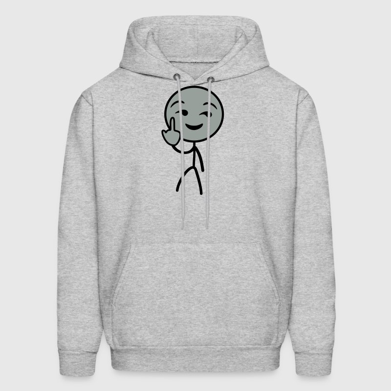 Fuck you stickman Hoodies - Men's Hoodie