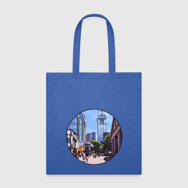 Boston MA - Quincy Market Bags & backpacks - Tote Bag