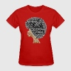 Natural Hair Word Art T-Shirt - Women's T-Shirt