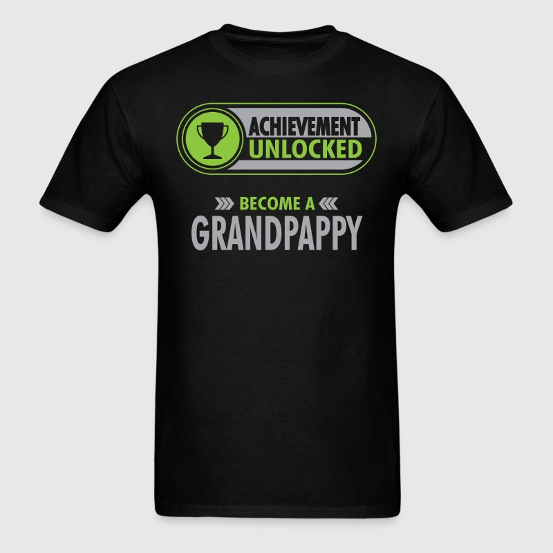 Grandpappy Achievement Unlocked T-Shirt T-Shirts - Men's T-Shirt