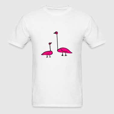 Doodle, Funny Birds, Baby and Parent Sportswear - Men's T-Shirt