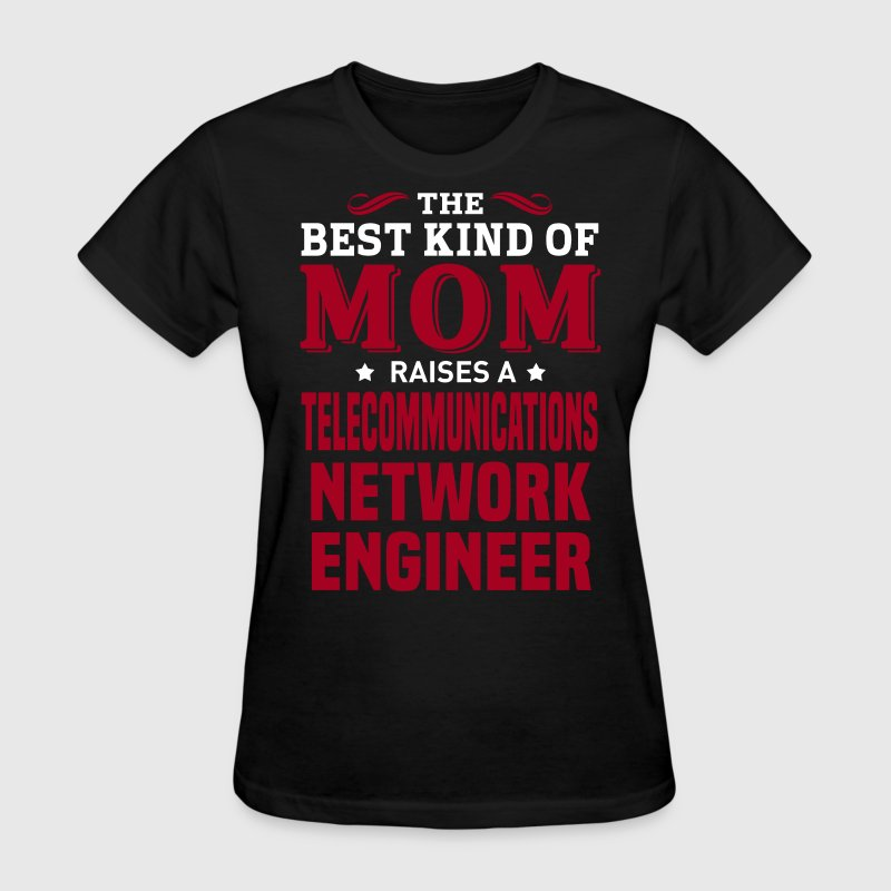 Telecommunications Network Engineer MOM - Women's T-Shirt