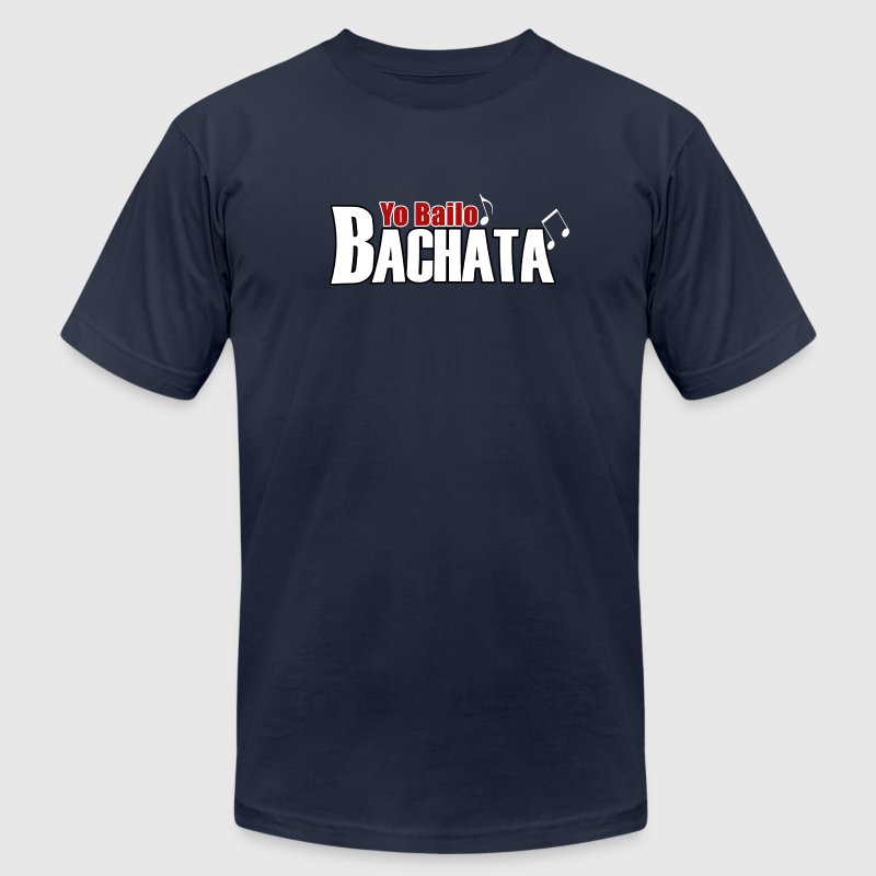 Yo Bailo Bachata T-Shirts - Men's T-Shirt by American Apparel
