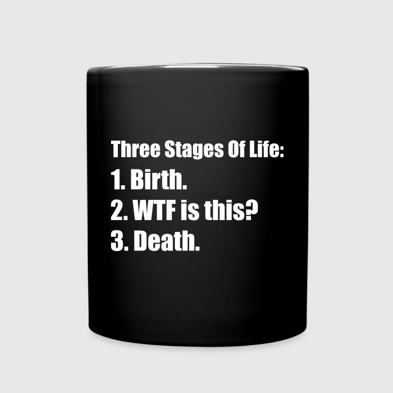 Three Stages Of Life Mugs & Drinkware - Full Color Mug