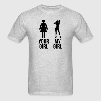 YOUR GIRL MY GIRL Sportswear - Men's T-Shirt
