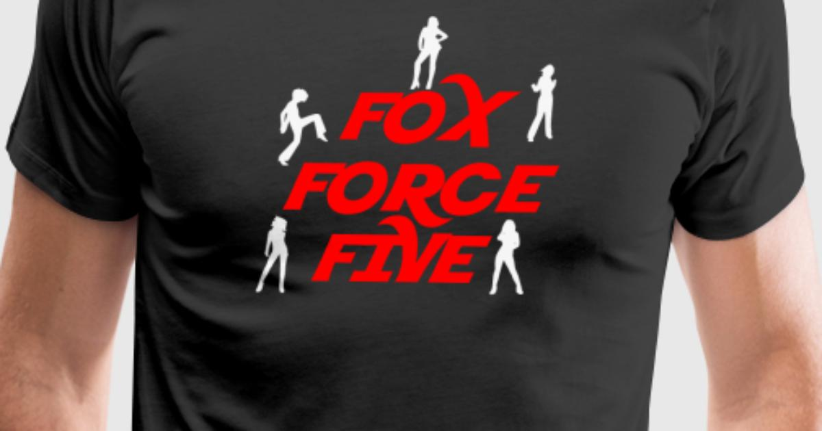fox force five pulp fiction t shirt spreadshirt. Black Bedroom Furniture Sets. Home Design Ideas