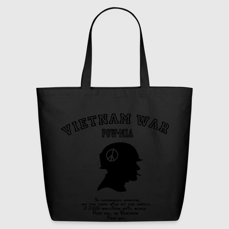 Vietnam War POW-MIA: 2255 Soldiers still missing. Bags  - Eco-Friendly Cotton Tote