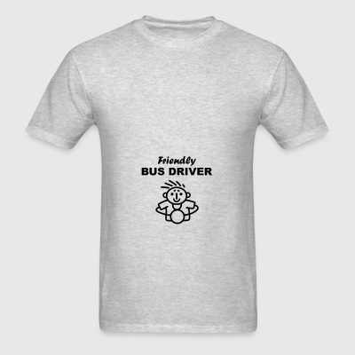 Friendly Bus Driver Bags & backpacks - Men's T-Shirt