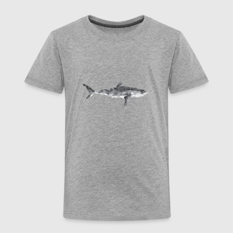 Polygon Shark / low poly design Baby & Toddler Shirts - Toddler Premium T-Shirt
