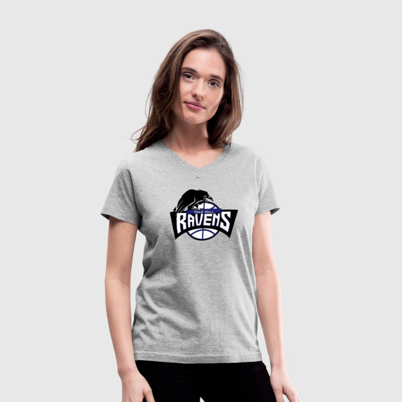 Ravens Team - Women's V-Neck T-Shirt