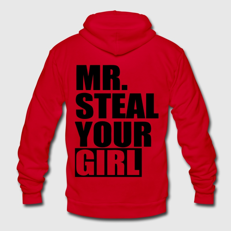 Mr. Steal Your Girl Zip Hoodies/Jackets - stayflyclothing.com - Unisex Fleece Zip Hoodie by American Apparel