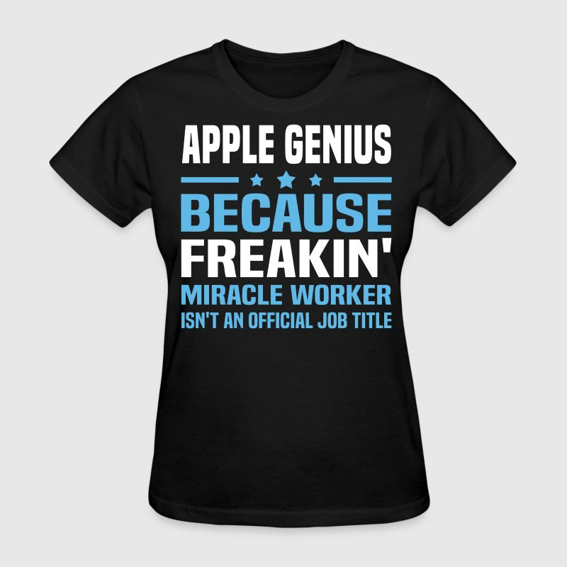 Apple Genius T Shirt Spreadshirt