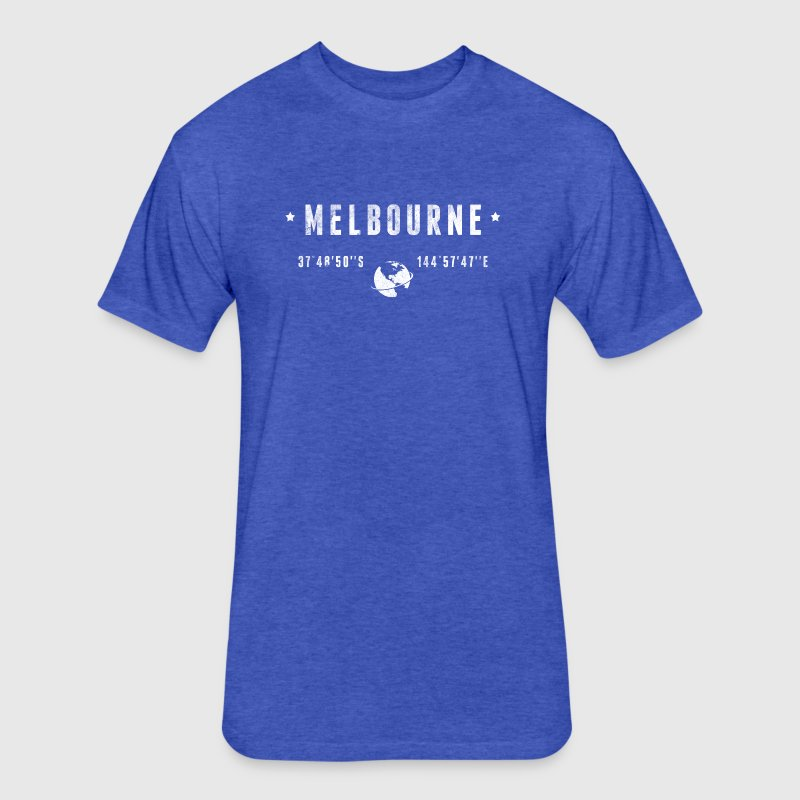 Melbourne T-Shirts - Fitted Cotton/Poly T-Shirt by Next Level