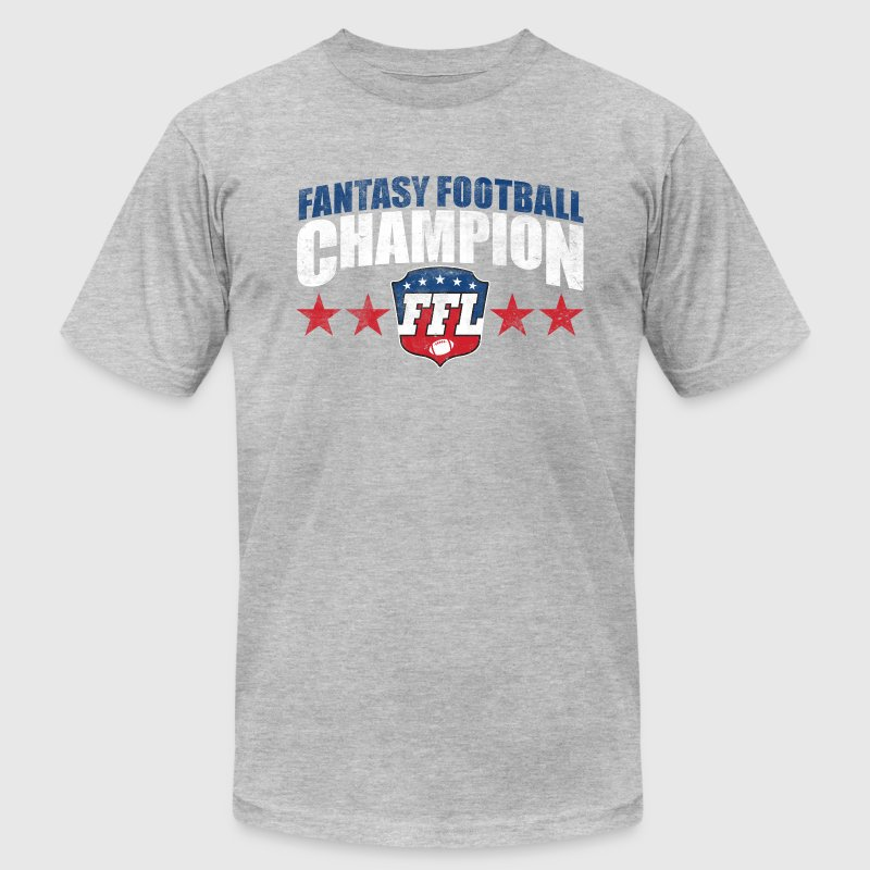 FANTASY FOOTBALL CHAMPION T-Shirts - Men's T-Shirt by American Apparel