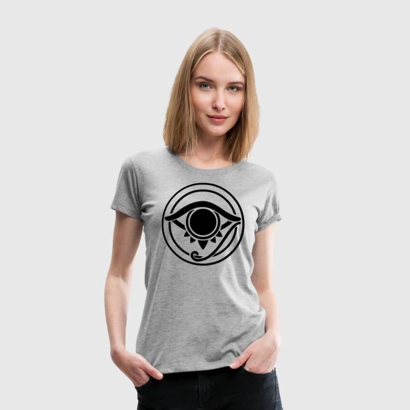All Seeing Eye Horus Egypt Ancient Myth T-Shirts - Women's Premium T-Shirt