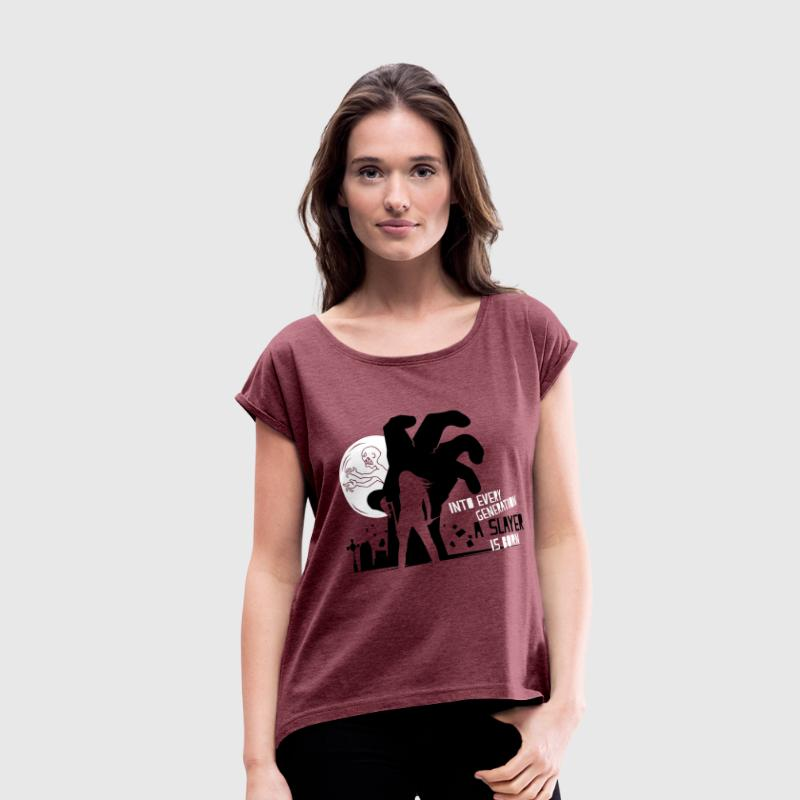 Into Every Generation T-Shirts - Women's Roll Cuff T-Shirt