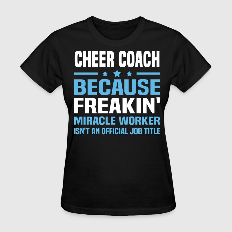 Cheerleading Coach T Shirt Designs