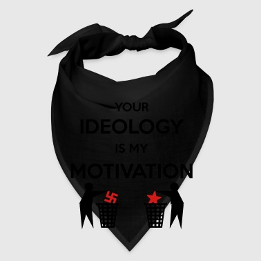 Ideology vs. Motivation Mugs & Drinkware - Bandana