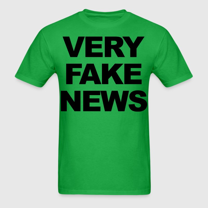 Very Fake News T-Shirts - Men's T-Shirt