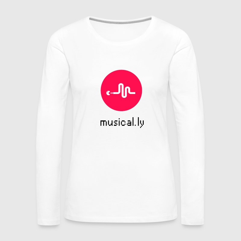 Musical.ly PocketMan Long Sleeve Shirts - Women's Premium Long Sleeve T-Shirt