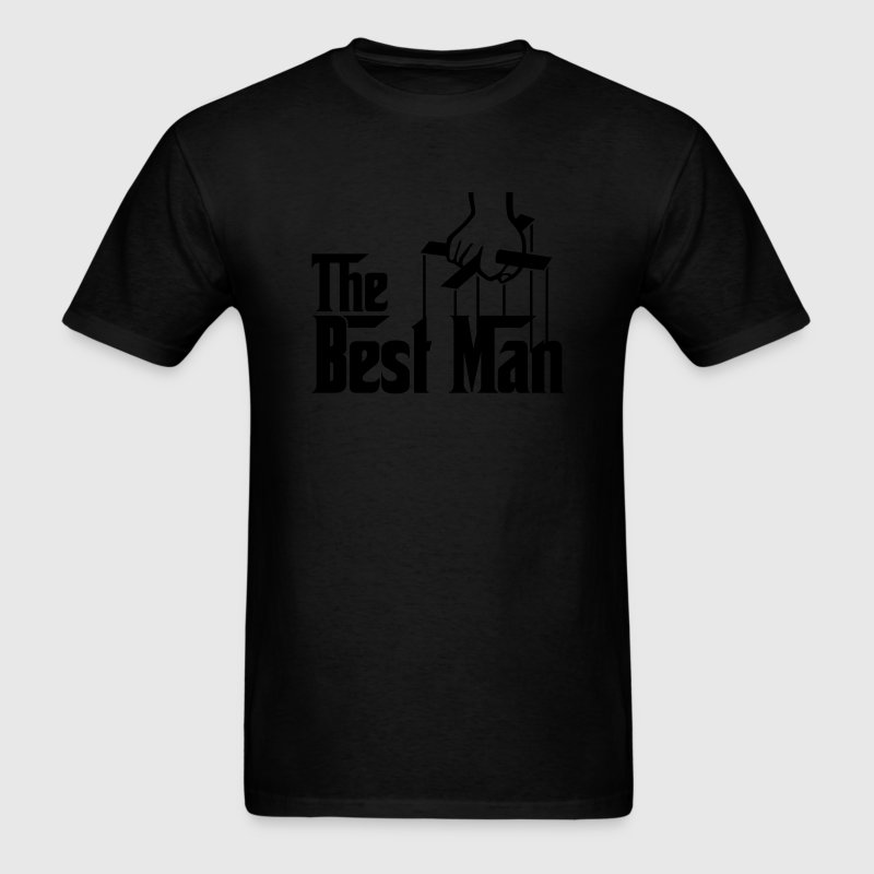 The Best Man (The Godfather style) - Men's T-Shirt