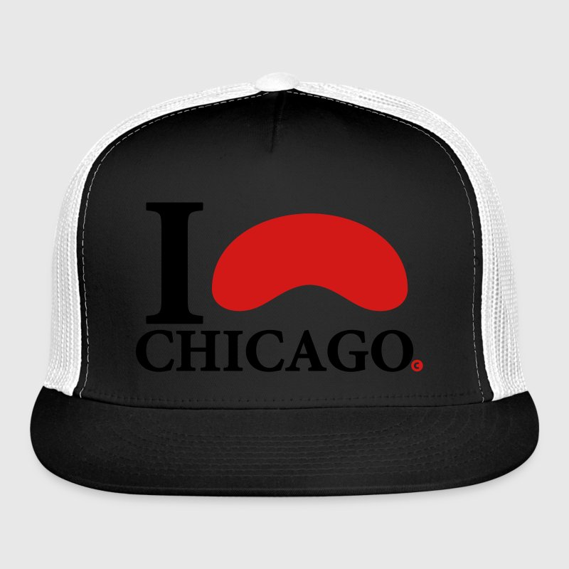 I Love Chicago Cloud Gate Sportswear - Trucker Cap