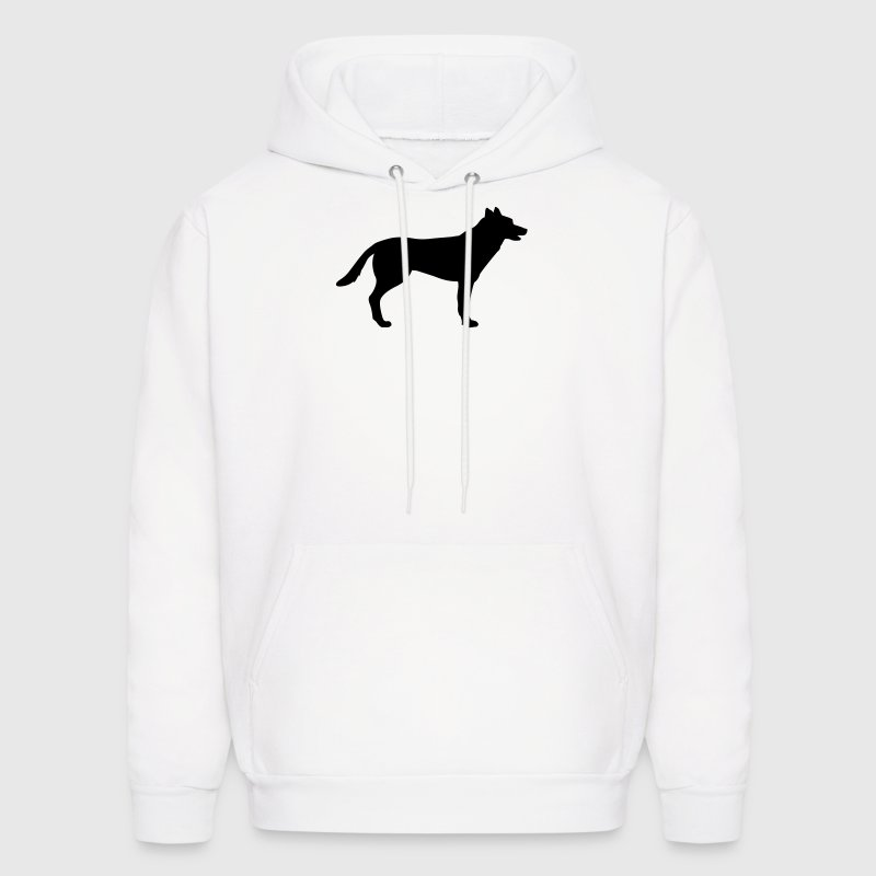 Dog, German Shepherd Hoodies - Men's Hoodie
