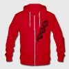 DNA Zip Hoodies/Jackets - Unisex Fleece Zip Hoodie by American Apparel
