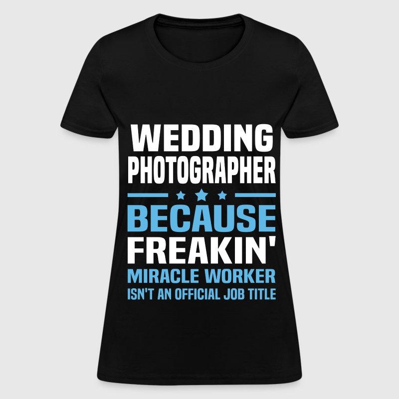 Wedding photographer t shirt spreadshirt for Wedding photographer clothes