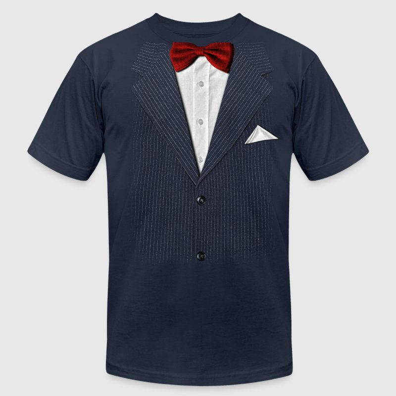 bow tie - Men's T-Shirt by American Apparel