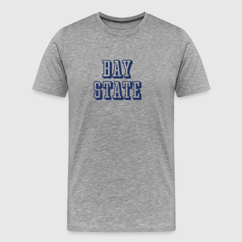 Massachusetts Bay State 3D Athletic - Men's Premium T-Shirt