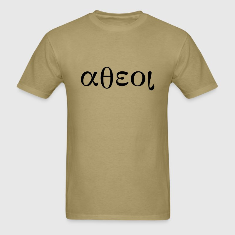 Greek Symbols for Atheist T-Shirts - Men's T-Shirt